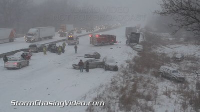 Accidentul de pe i-80 Wyoming