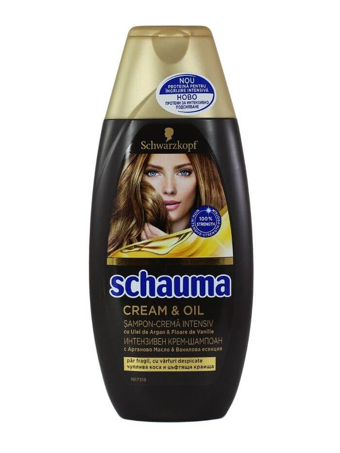 șampon Schauma Cream & Oil