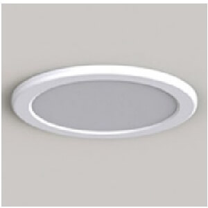 spot fix led 12w 3000k pan mini opal